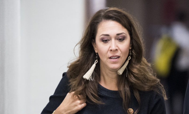 UNITED STATES - SEPTEMBER 26: Rep. Jaime Herrera Beutler, R-Wash., arrives for the House Republican Conference meeting on Wednesday, Sept. 26, 2018. (Photo By Bill Clark/CQ Roll Call)