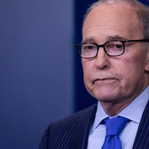 Larry Kudlow, NEC Director and Assistant to U.S. President Donald Trump for Economic Policy, conducts a press briefing on the G7 Summit in the James S. Brady Press Briefing Room of the White House, on Wednesday, June 6, 2018. (Photo by Cheriss May/NurPhoto)