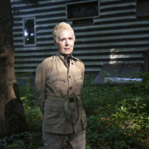 WARWICK, NEW YORK - JUNE 21,2019: E. Jean Carroll at her home in Warwick, NY. (Photo by Eva Deitch for The Washington Post)